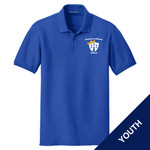 Y100 - E236-S1.0 - EMB - Youth Pique Polo