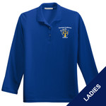 L500LS - E236-S1.0 - EMB - Ladies Long Sleeve Pique Polo