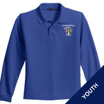 Y500LS - E236-S1.0 - EMB - Youth Long Sleeve Pique Polo
